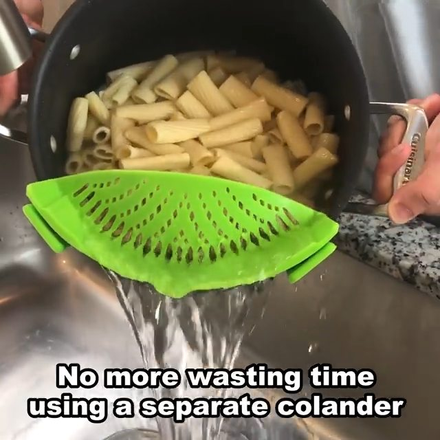 Universal Clip-on Strainer
