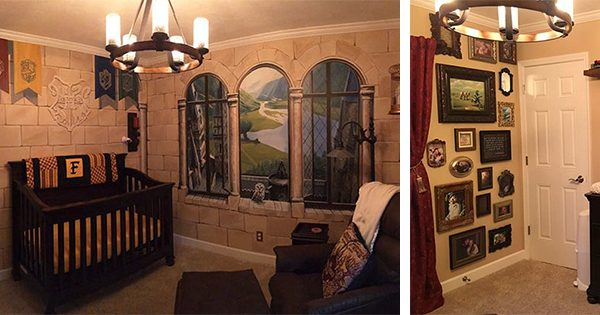 This Dad Designed A Perfect Harry Potter Nursery