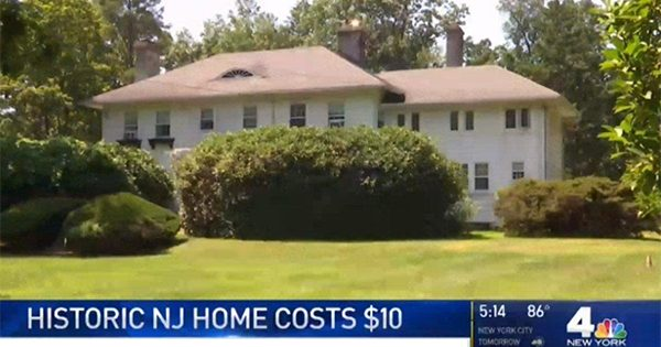 This New Jersey home costs only $10 – but comes with a catch