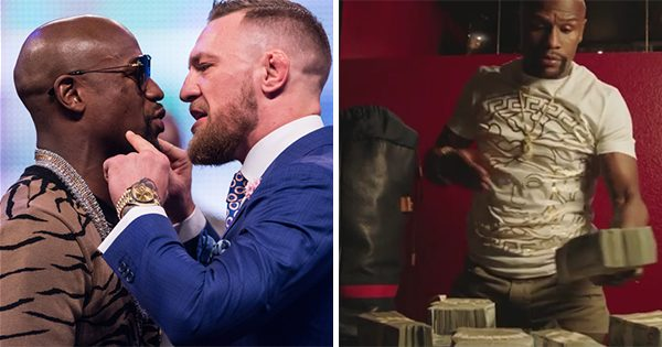 Floyd Mayweather Reveals The Shocking Amount Of Money He'll Make From The Conor McGregor Fight