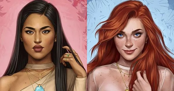 Illustrator Shows What Disney Princesses Would Look Like If They Lived In 2017, And The Result Is Magical